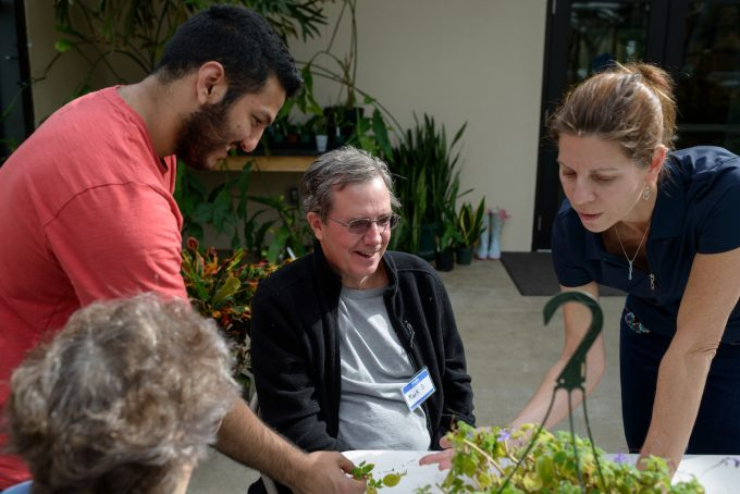 Therapeutic Horticulture graduate education participants
