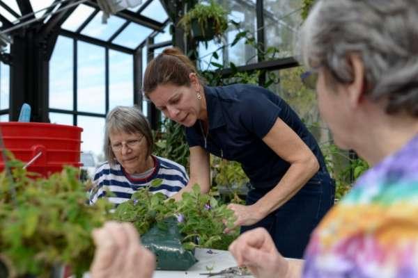 Therapeutic horticulture participants