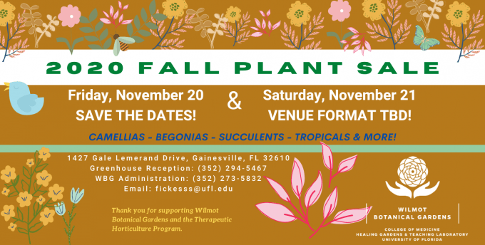 2020 Fall Plant Sale