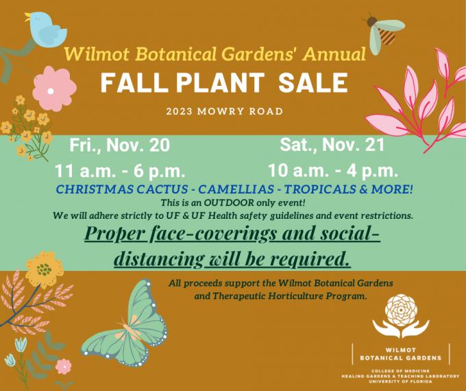 2020 Fall Plant Sale
